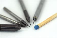 Microfräser für Stahl-, Kupfer- und Hartbearbeitung